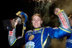 En av Västerviks guldhjältar har kört sitt sista varv