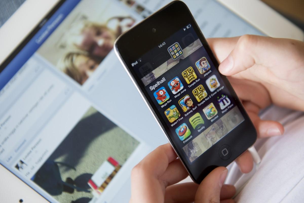 Stort försäljningsras för smarta telefoner