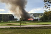 Efter storbranden – polisen påbörjar utredning