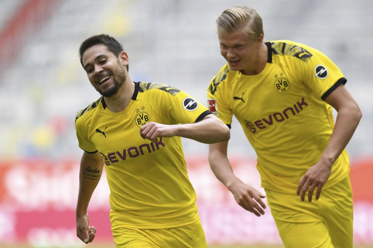 Haaland frälste Dortmund direkt i comebacken
