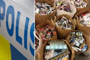 Polisen slog till mot tobaksbutik – insatsen var olaglig