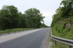 Fortfarande inte klart med vägarbetet på E22