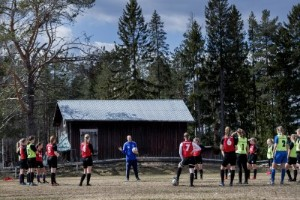 """Flarken blev länslagslägrets soliga Halmstad: """"Många lovande spelare"""""""