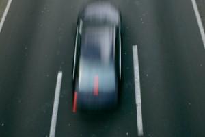 Polis jagade fortkörare – i 230 (!) km/h