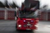 Larm om skogsbrand i Övertorneå
