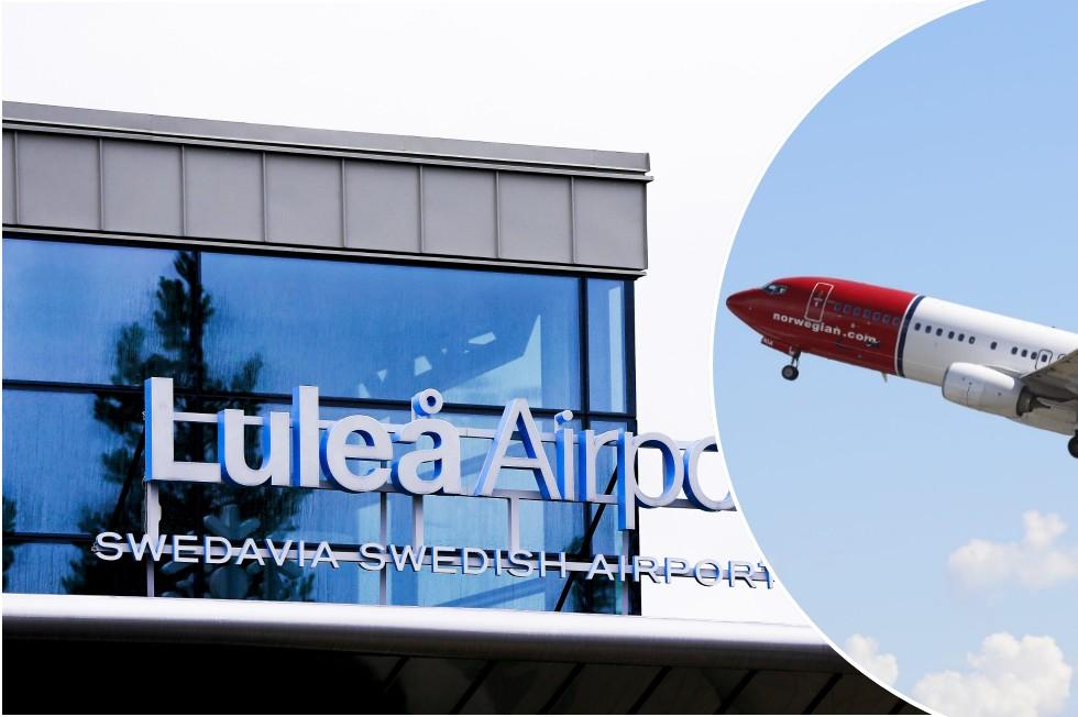 Klart: Norwegian återupptar flyget till Luleå