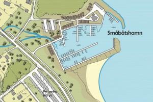 Stor båthamn föreslås vid Bovikens havsbad