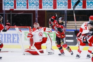 Center förlänger med Boden Hockey