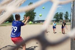 Här är det sport och sommarlovslek för alla