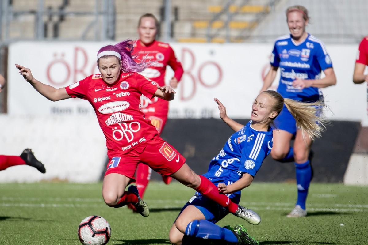 Tove Almqvist befaras vara svårt skadad