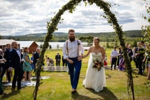 """De gifte sig i """"kärlekslösa"""" kommunen"""