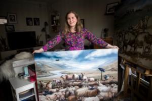 Islänningen som ställer ut i Saluhallen