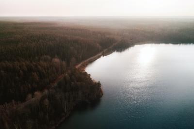 Sjö och skog i Sörmland