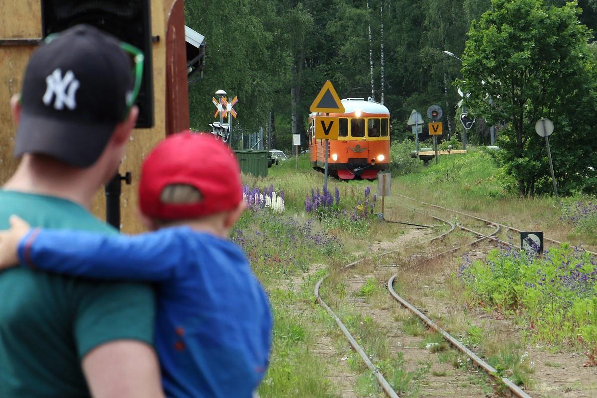 gå i tåg korsord
