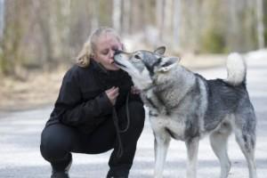 Buset med hunden hade kunnat kosta henne livet