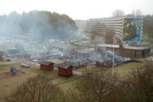 Polisen ger upp i utredningen av Fjärilenbranden
