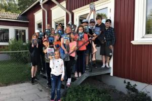 Tusentals lästa sidor firas med fest på Kvarsebo skola