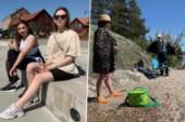 Dagen när sommarvärmen kom till Nyköping