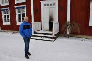 """Ny brand på Norrigården: """"Brunnit på utsidan av ingången"""""""