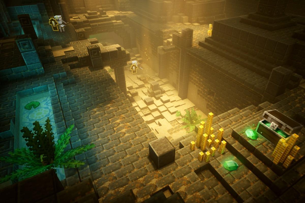 """""""Minecraft"""" växer med nya """"Dungeons"""""""