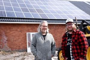 De skapar ljuv musik med hjälp av solenergi