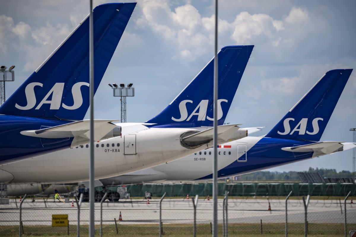 SAS minskar mindre än konkurrenterna