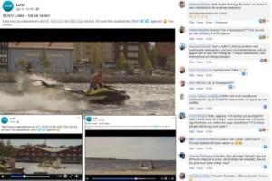 Luleå kommuns PR-fiasko – mitt i vattenskoterdebatten
