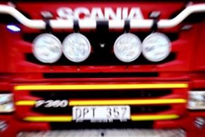 Skogsbrand bröt ut i Ankarsrum