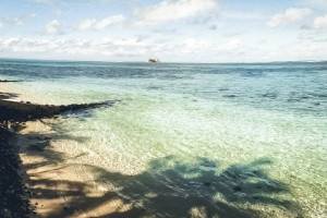 Oljelarm från paradisö: 1000 ton kan ha läckt