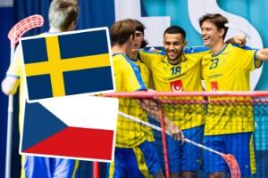 Se Sveriges match mot Tjeckien i innebandy