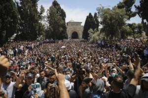 Över 180 skadade i Jerusalem