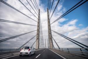 Danska fritidsresenärer tillbaka på bron