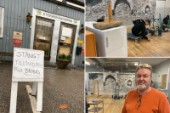 Återanvändarna drabbades av mordbrännarna – Nu renoveras butiken i raketfart