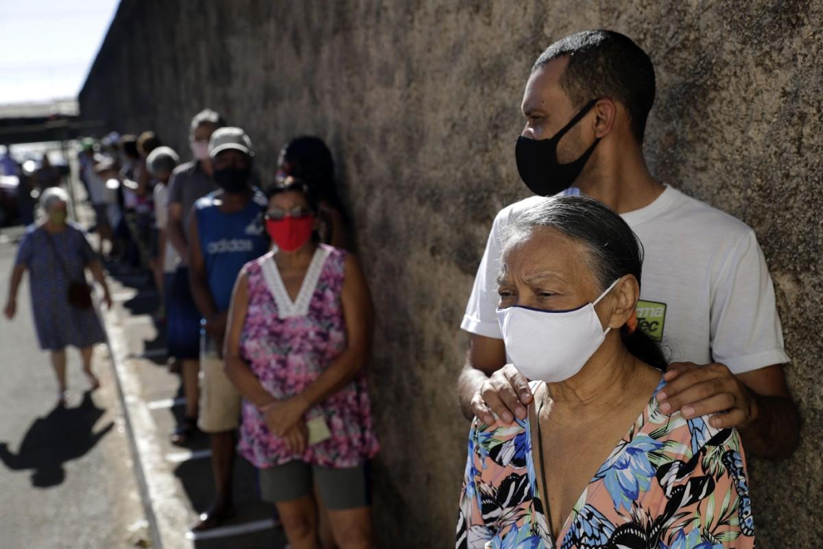 Brasilien slår rekord i coviddöda