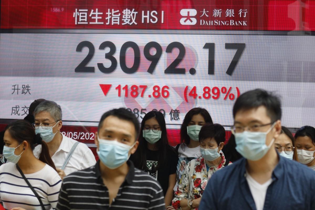 Blandat på Asiens börser