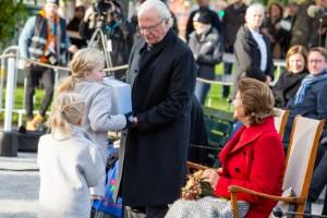 Kunglig glans över Luleås jubileumsfirande