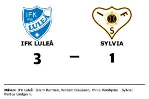 Segerlös svit bröts när IFK Luleå vann mot Sylvia