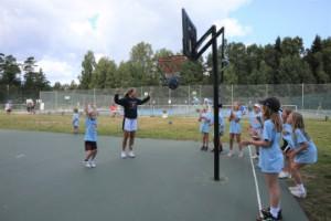 Rekordstort intresse för basketläger i Ljugarn