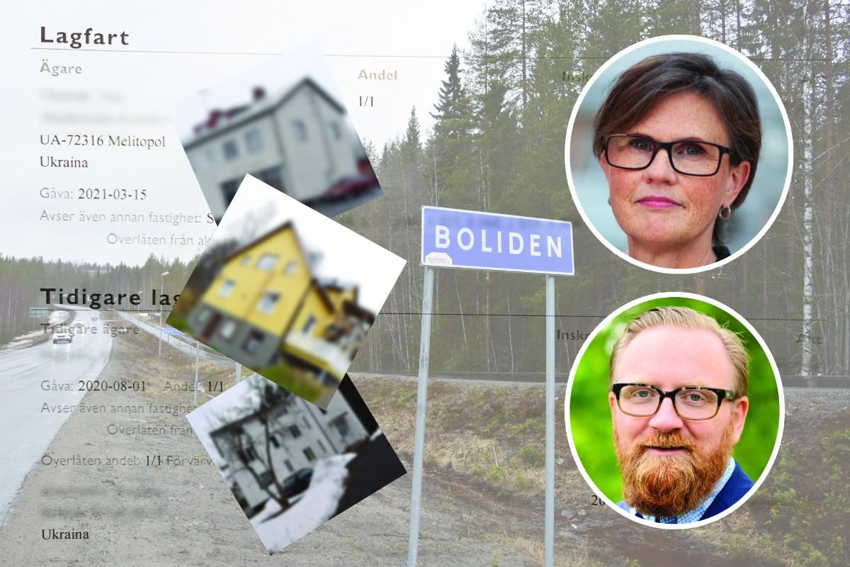 """Misstankarna om mordbrand i Boliden: """"Det framkommer vissa omständigheter på plats"""""""