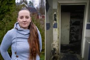 """Branden i väggen förstörde allt: """"Trodde det var kört"""""""