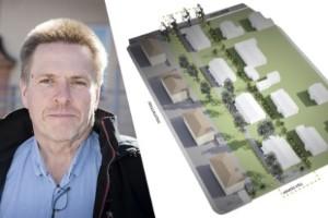 KFAB bygger fyra parhus på Söder