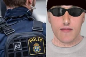 Våldtäktsman jagas av polis – släpper fantombild