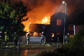 """Restaurang totalförstörd i brand: """"Bara en askhög kvar"""""""
