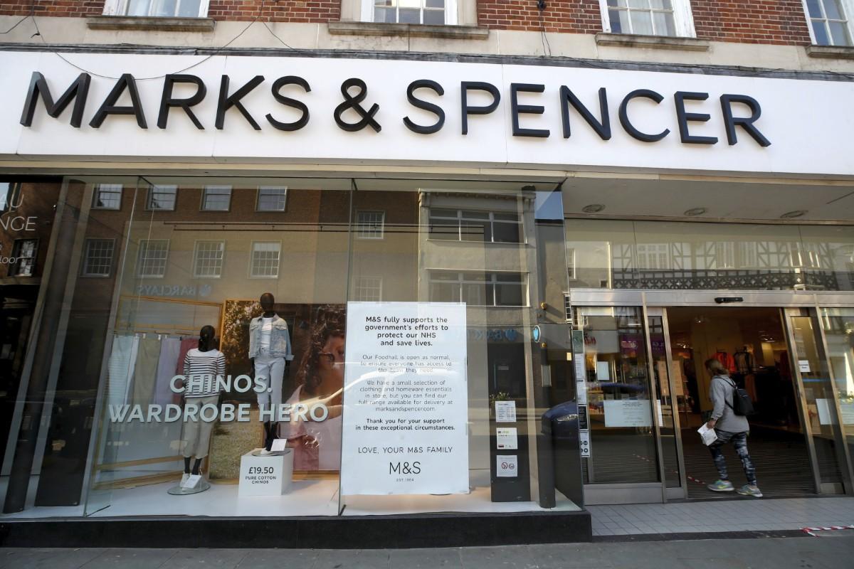 Marks & Spencer: 7 000 jobb ska bort