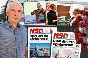 """Veckorna som skakade Gällivare: """"Det var köer till akuten med covidpatienter"""""""