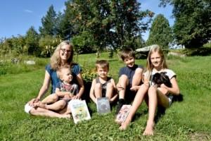 Marias elever och barn gjorde henne till författare