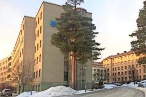 Kris och kaos granne med sjukvården i Skellefteå