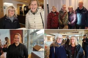 Vimmel: Så glada är Norrbottningarna på Bok & bild-mässan i Luleå