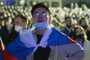 Tredje coronavåg i Ryssland mitt i fotbolls-EM