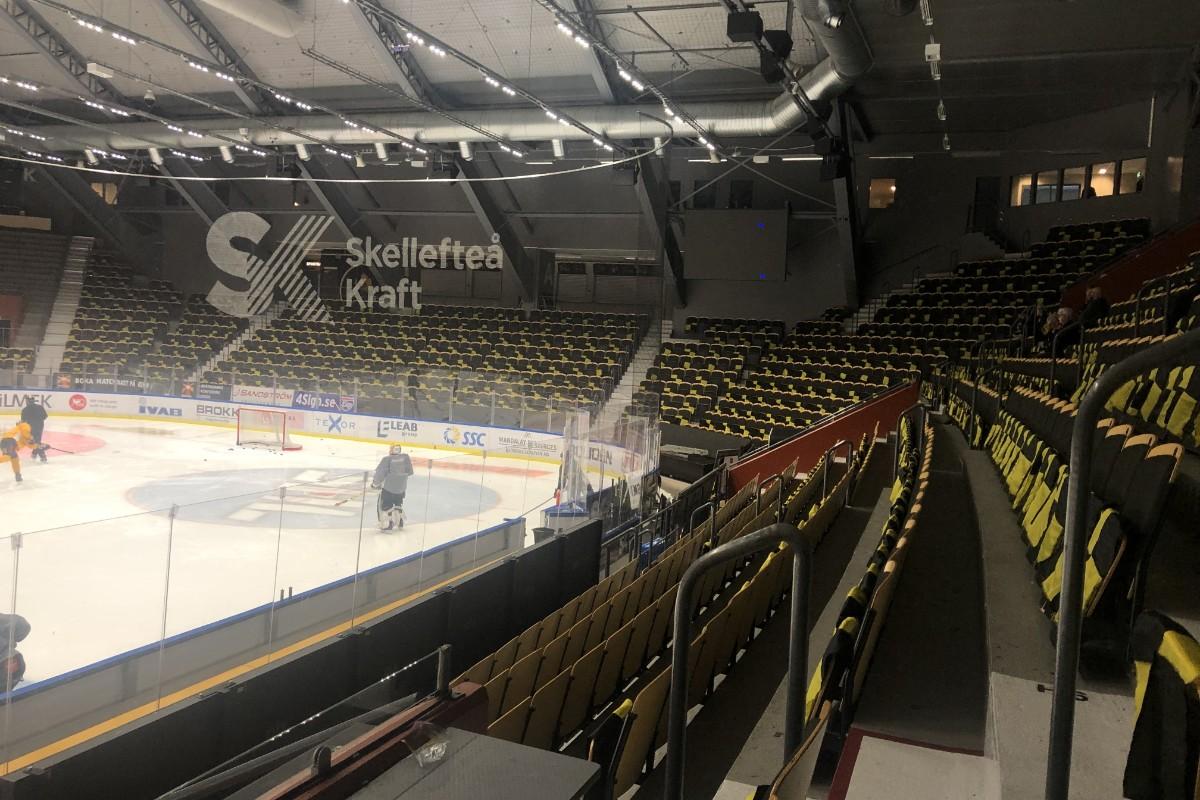 Se den flaggprydda arenan • AIK värmer inför festen